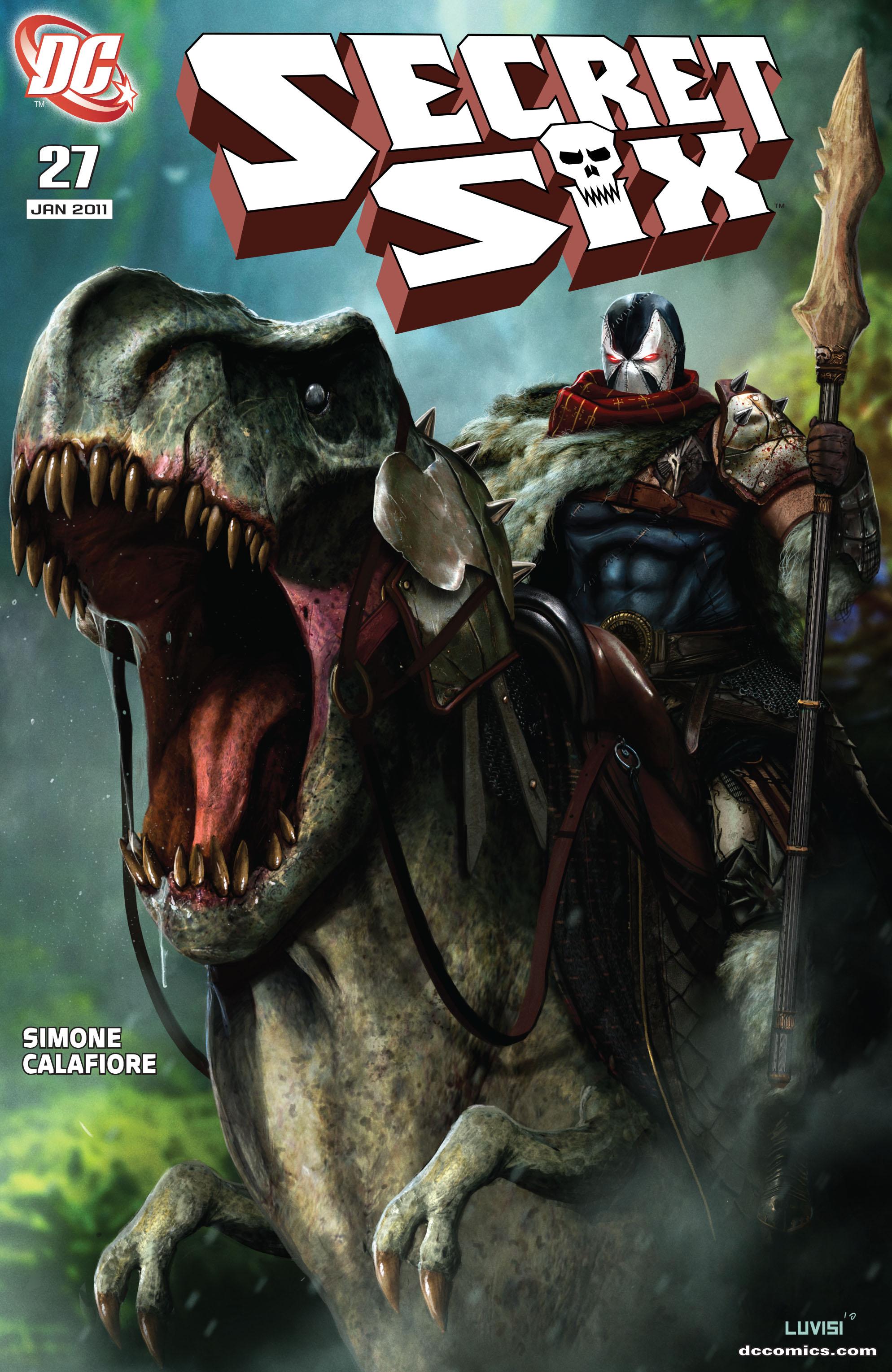 Read online Secret Six (2008) comic -  Issue #27 - 1
