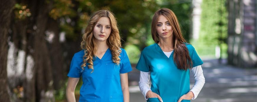 Spodnie i bluzy medyczne