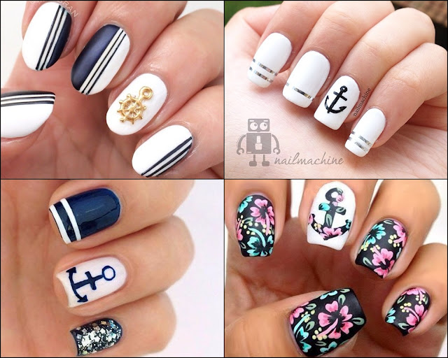 pomysły na wakacyjne paznokcie