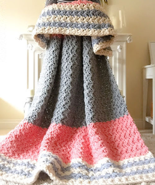 The Enormous, Squishy Blanket - Free Pattern