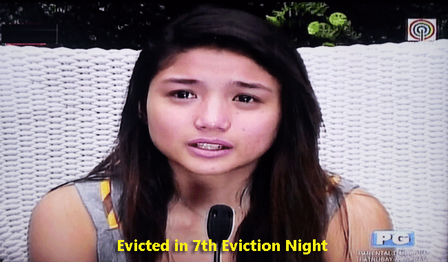 Nichole Baranda Evicted in PBB All In 7th Eviction Night