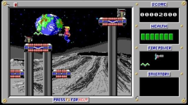 Duke Nukem 1 PC Games Screenshots