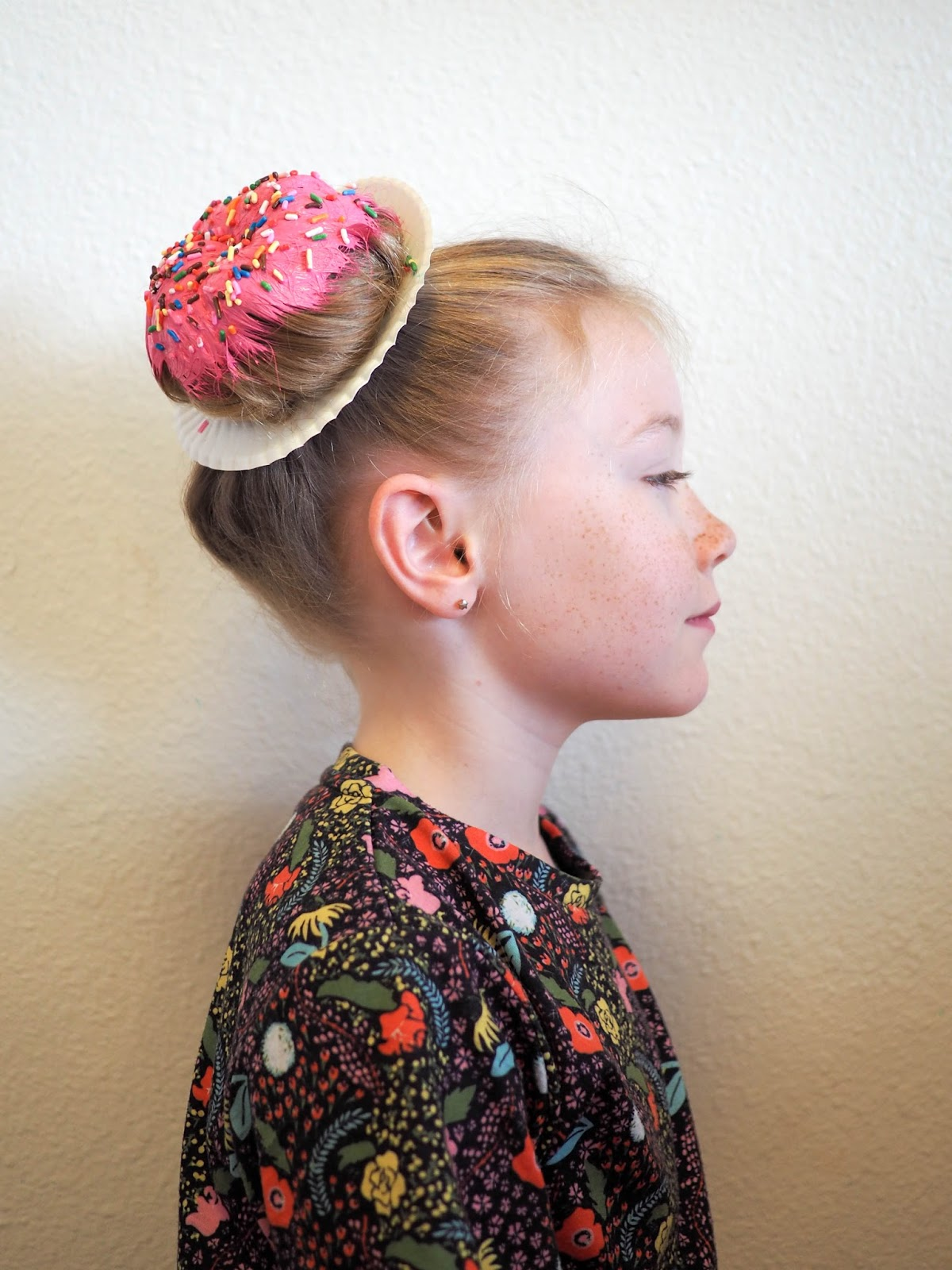 Little Hiccups Donut Hair Diy