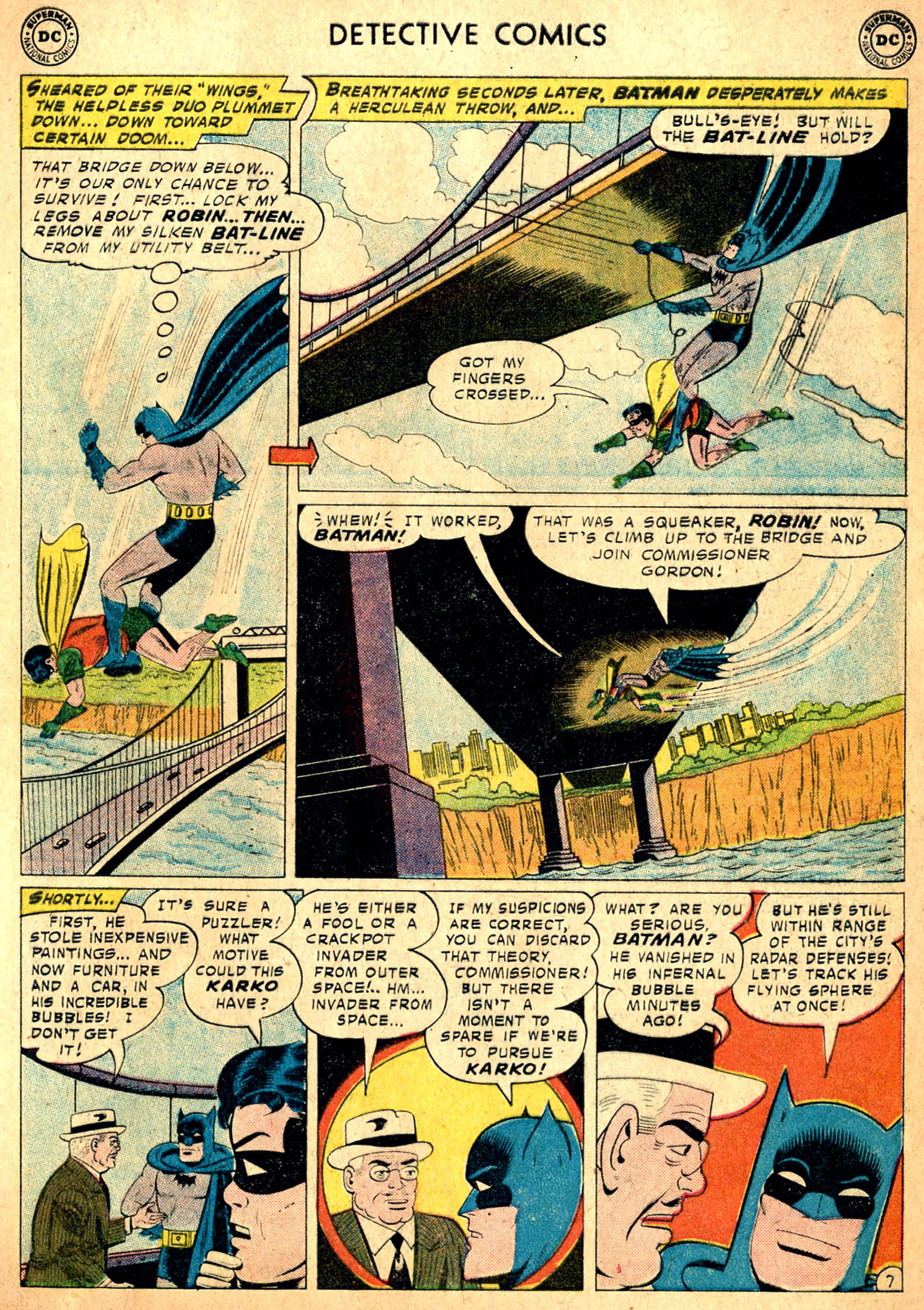 Read online Detective Comics (1937) comic -  Issue #257 - 9