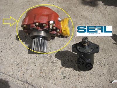 hộp giảm tốc quay toa  Kanglim 6 tấn KS1253-KS1254-KS1255-KS1256-KS1256G -A1034986