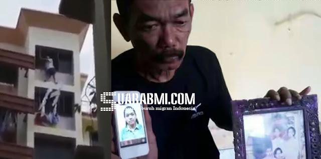 Video Detik - Detik Jatuhnya TKW Hong Kong Dari Lantai 11 Menyebar Viral