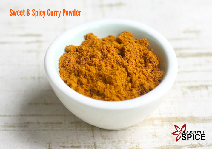 Sweet & Spicy Curry Powder by SeasonWithSpice.com