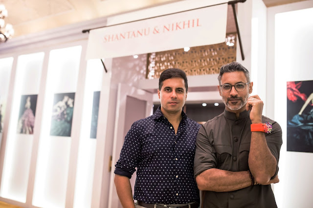 Designer Shantanu and Nikhil at Vogue Wedding Show 2016 at Taj Palace New Delhi wedding fashion