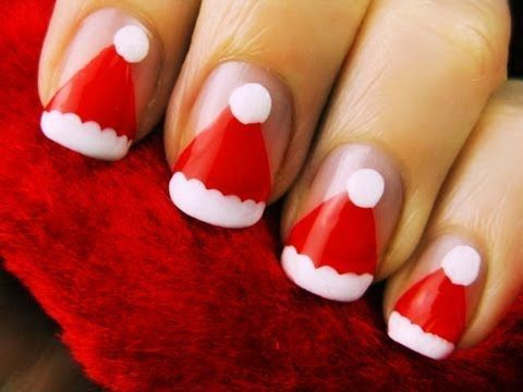 Christmas-Simple-Nail-Arts