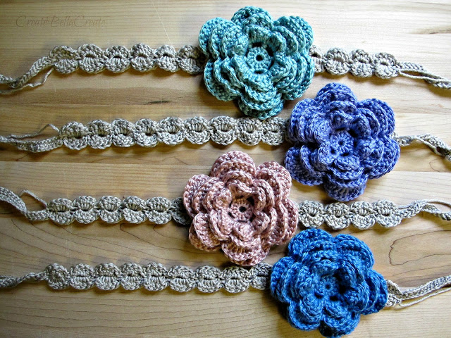 Gehaakte Haarband Tutorial Crochet Headband Tutorial Bees And