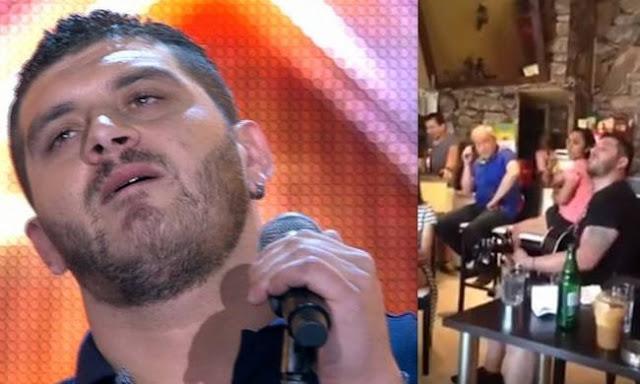 Δείτε τον Πιλάτο από το X-Factor να τραγουδάει Παντελίδη στο καφέ της οικογένειας στη Νέα Ιωνία