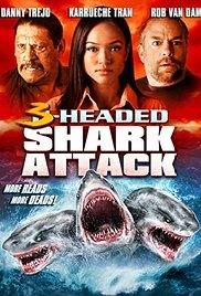 Cá Mập 3 Đầu - 3 Headed Shark Attack (2015)