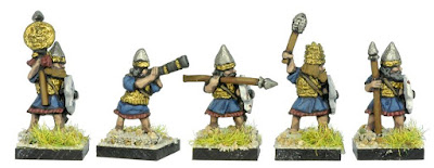 BYL4 Qurbuti Guard with Spear and Shield