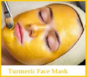 Turmeric Face Masks For Skin Whitening, Acne, Oily Skin, Dry Skin & Senstive Skin