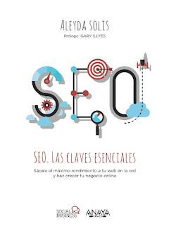 Portada SEO Las claves esenciales de Aleyda Solís (Ed. Anaya Multimedia)