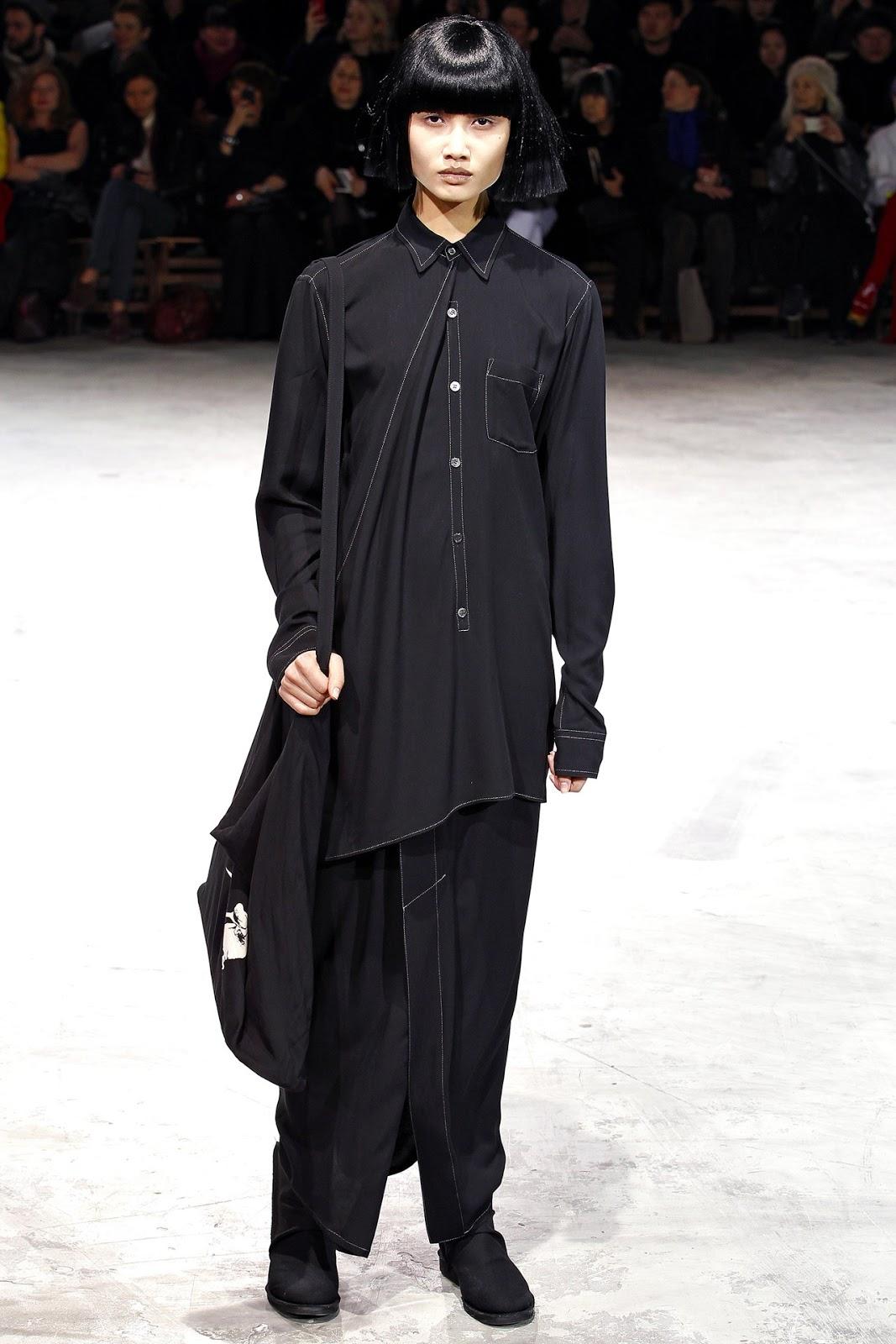 Te Dore F W 2013 2014 Yohji Yamamoto Women Paris Fashion Week