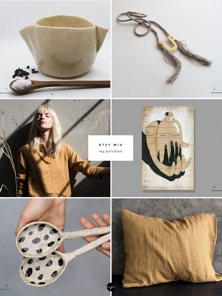 ETSY MIX of the week curate by Eleni Psyllaki for My Paradissi