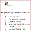 Join the Pergola Building E-Course