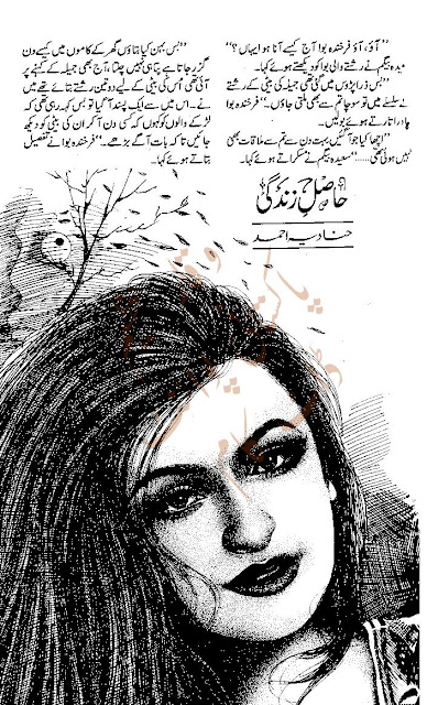 Hasil e zindagi novel by Hanadia Ahmed