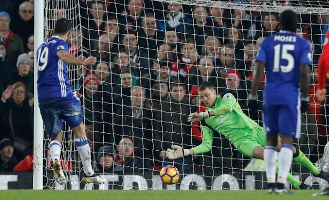 Hasil Liverpool 1-1 Chelsea Liga Inggris Pekan 23!