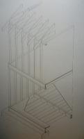 Axonométrica de forjado ligero de madera actual