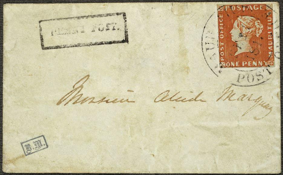 World of Philately: Mauritius 1847