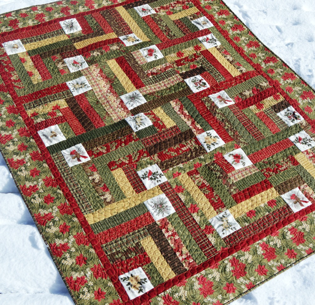Happy Quilting: Forever Green - Christmas in July!!! : antler quilt design - Adamdwight.com