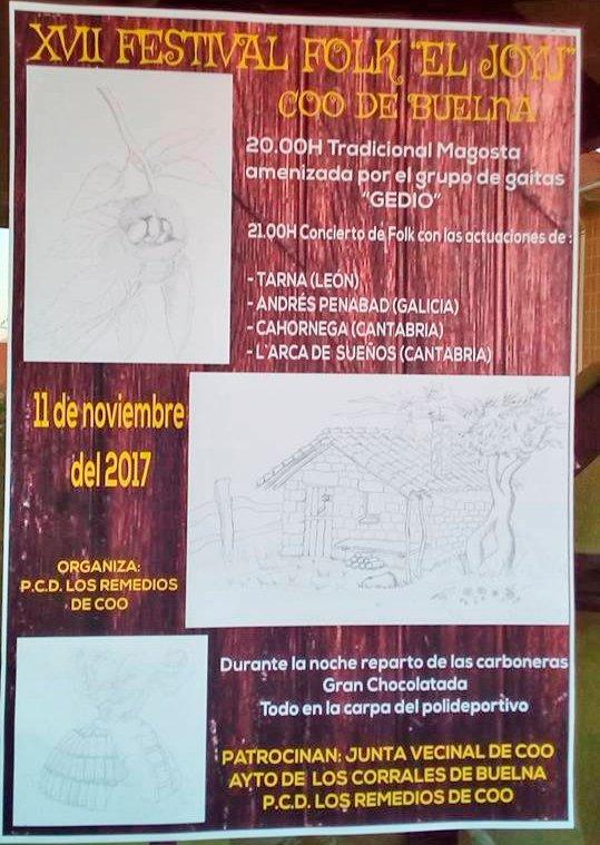 "XVII Festival Folk ""El Joyu"" en Coo de Buelna"