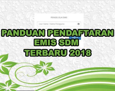 Panduan Pendaftaran Emisn SDM