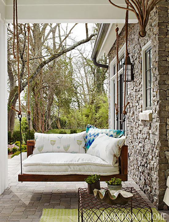 Desain sofa gantung