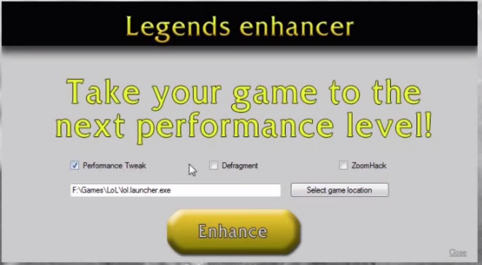 League of Legends lag fix