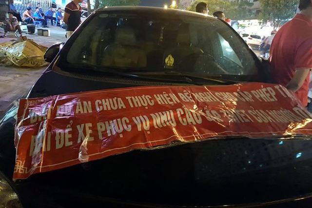 Cư dân phản đối đóng cửa bãi đỗ xe Linh Đàm