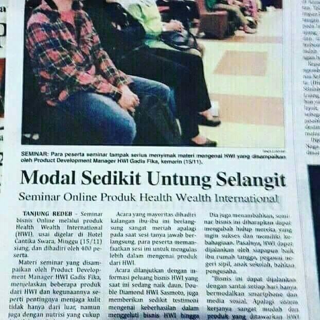 Distributor HWI Surabaya