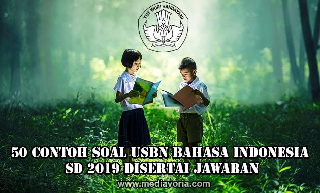50 Contoh Soal USBN Bahasa Indonesia SD 2019 Disertai Jawaban