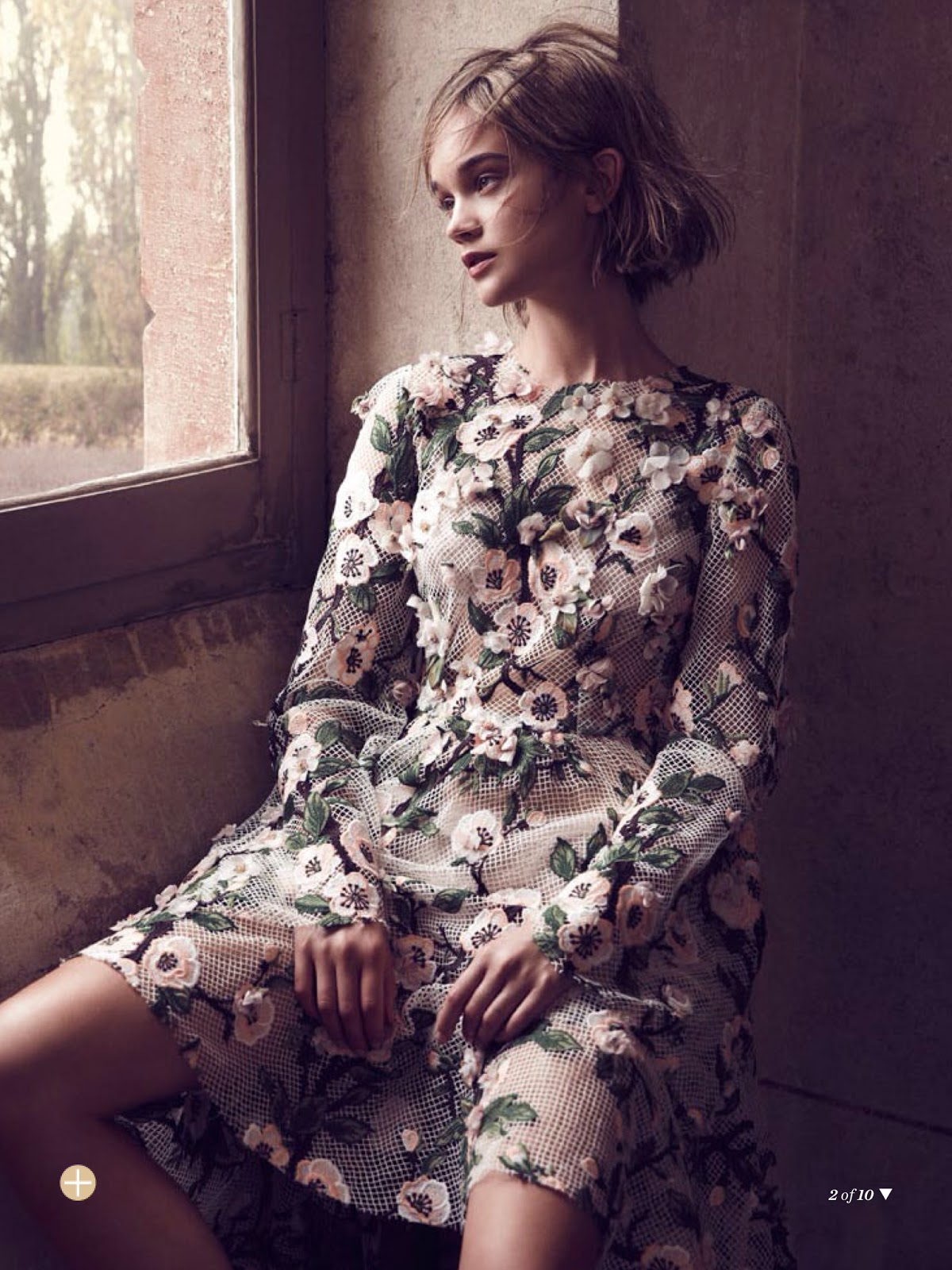 The Artist S Muse Rosie Tupper By Nicole Bentley For