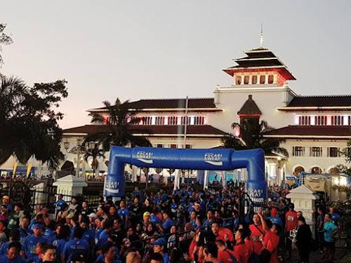 Bandung West Java Marathon 2017