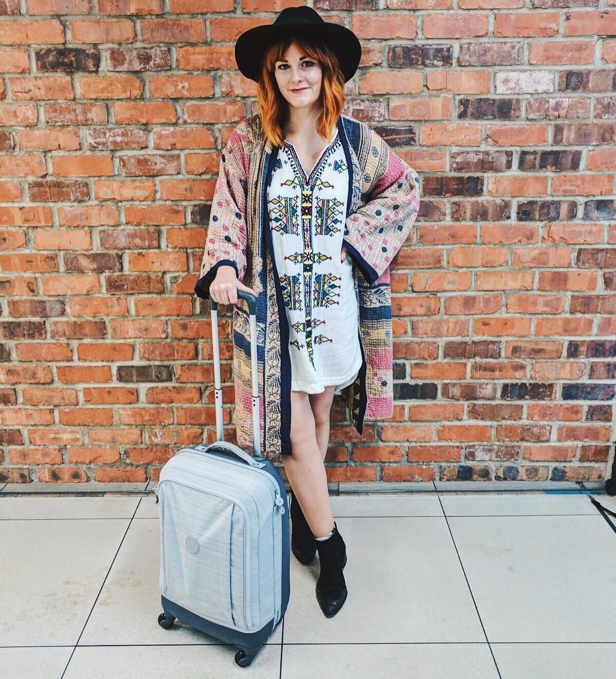 Super Hybrid Suitcase by Kipling