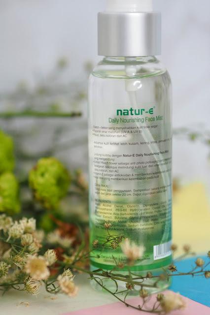 Review dan Event dari Natur-E Face Mist, Produk Praktis ...