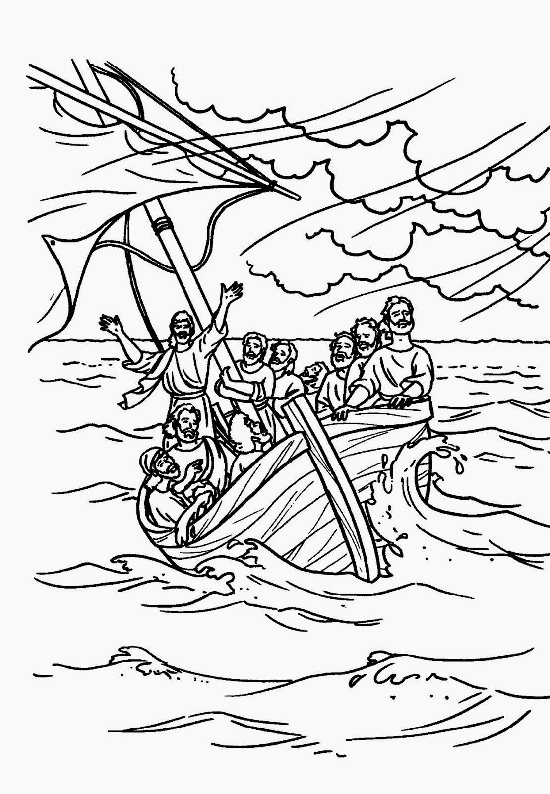 El Renuevo De Jehova: Jesus calma la tempestad - Imagenes para ...