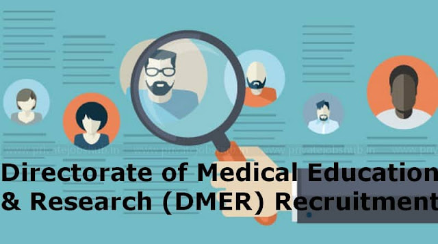 DMER Recruitment