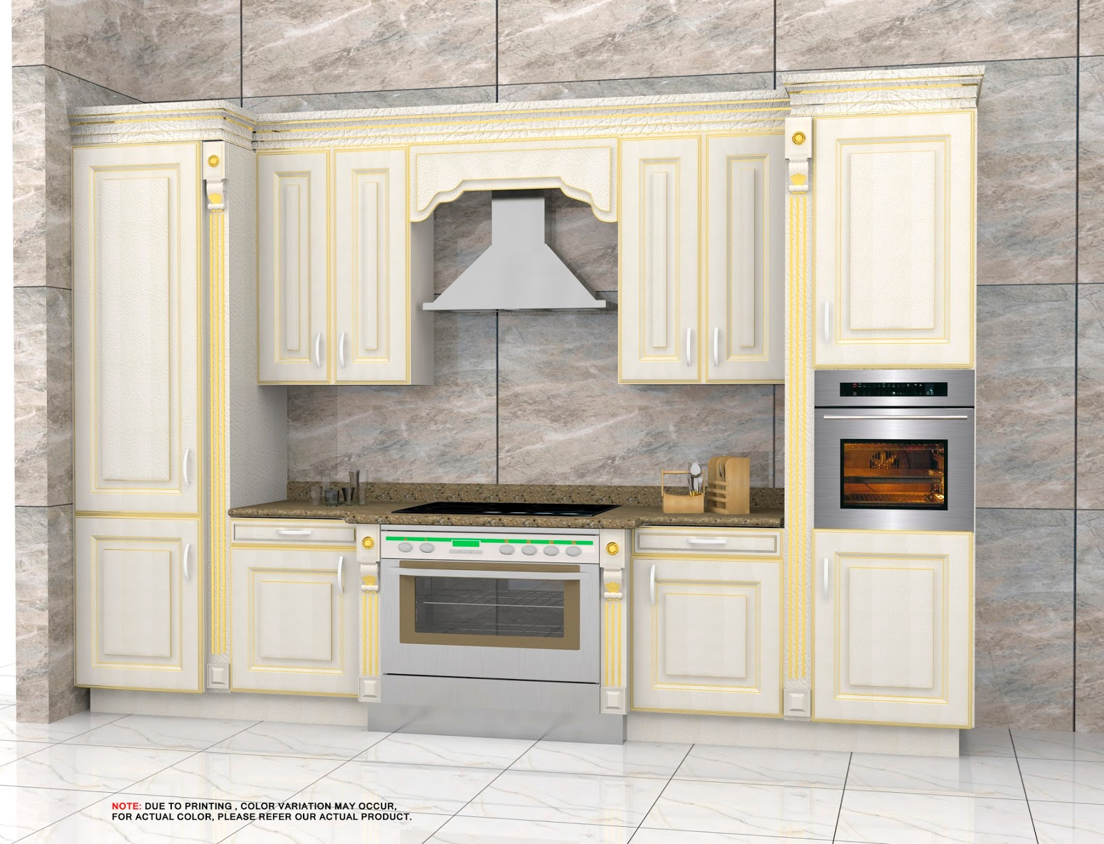 Amazing Qdesignfactory Classic Golden And Crack Kitchen Design Interior Design Ideas Tzicisoteloinfo