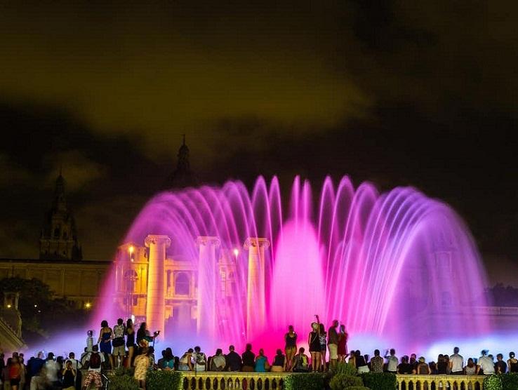 Magic Fountain of Montjuic, Air Mancur Indah di Spanyol