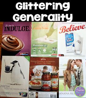 Advertising Techniques: A Project | Upper Elementary Snapshots  Glittering Generalities Propaganda