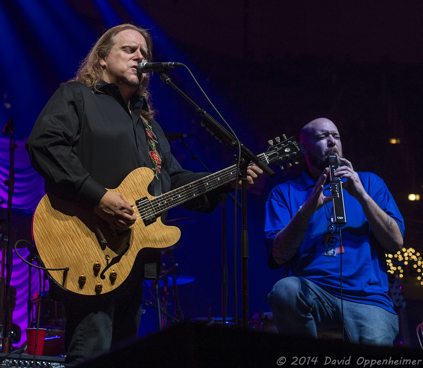 Warren Haynes and Craig Sorrells with Aquarium Rescue Unit