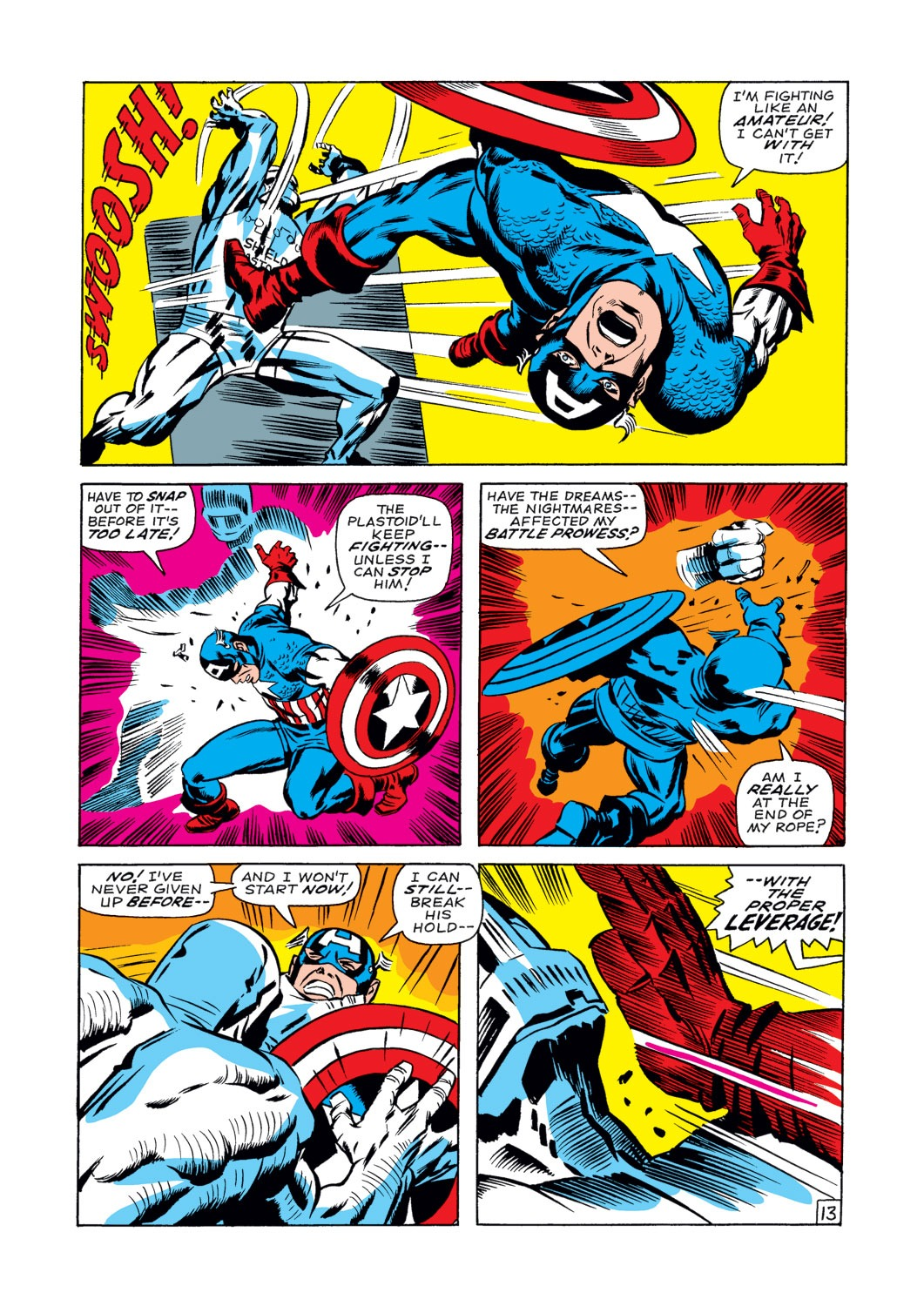 Captain America (1968) Issue #107 #21 - English 14