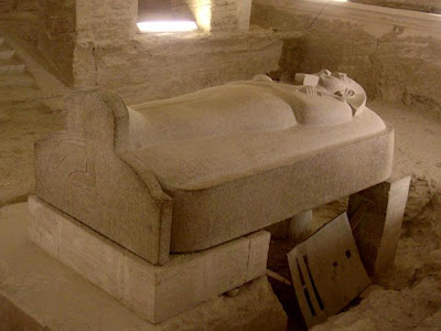 Largest ever Egyptian sarcophagus identified