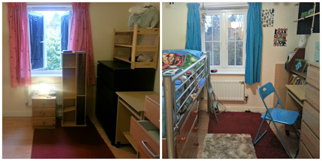 Child's Bedroom Makeover Before and After