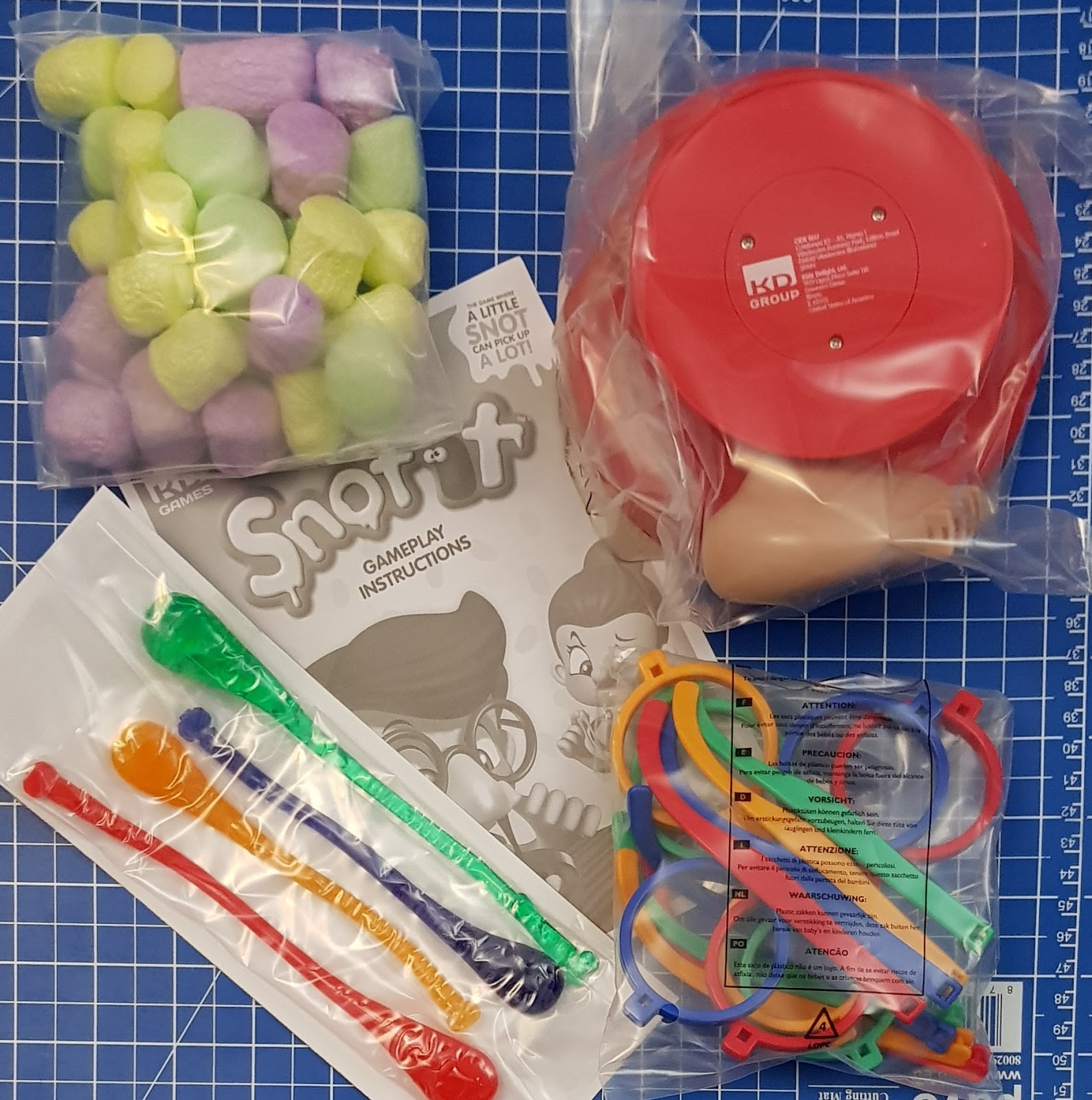 466e9bbe155 Initial set up takes only 5 minutes to construct the glasses and insert the  snots. The snots are made from that gooey-feeling