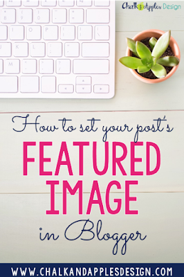 Step-by-step tutorial for how to set the featured image for your post in Blogger. This is how you can tell social media sites which image to use!