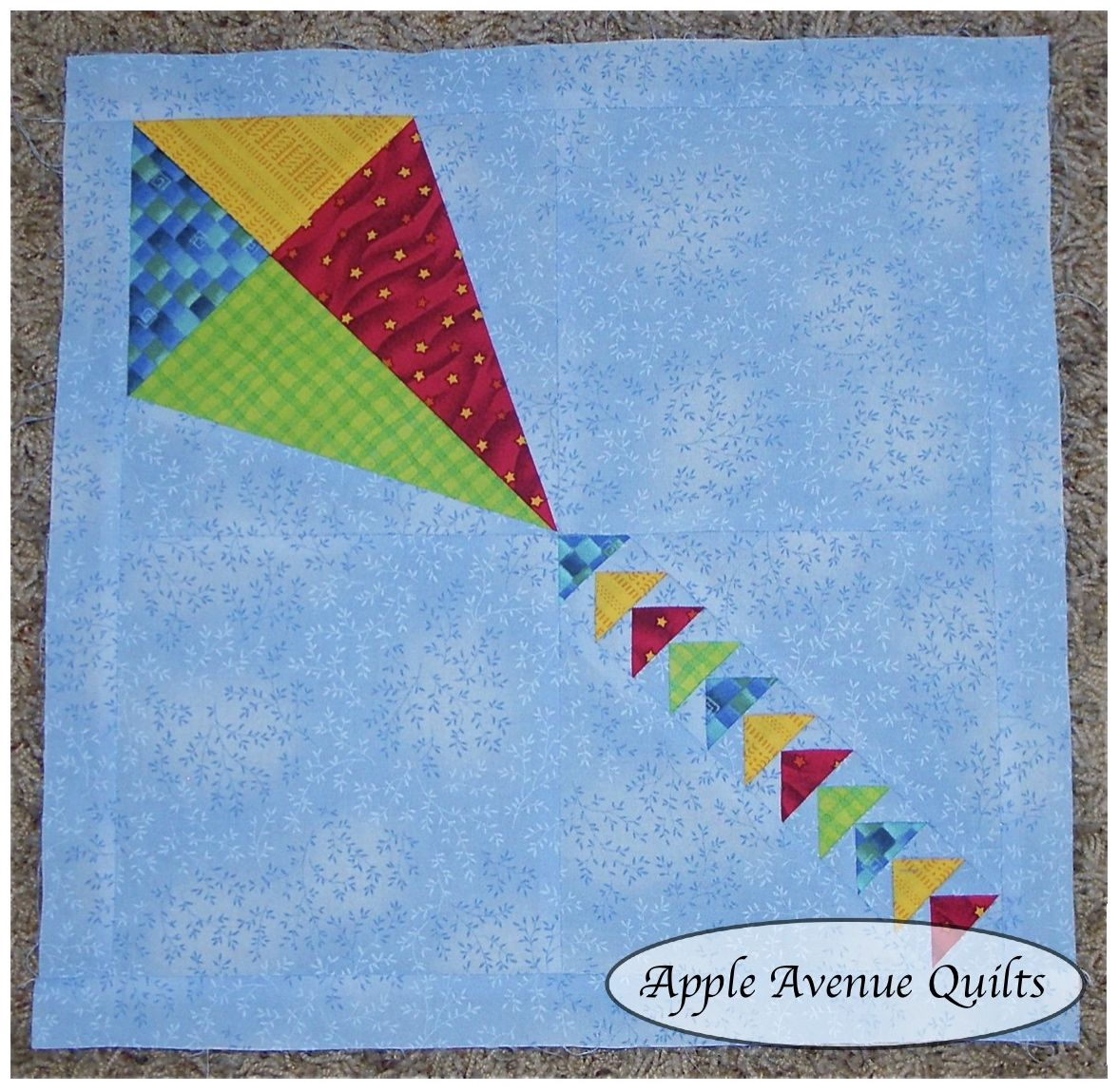 Apple Avenue Quilts Free Block Of The Month March Blocks